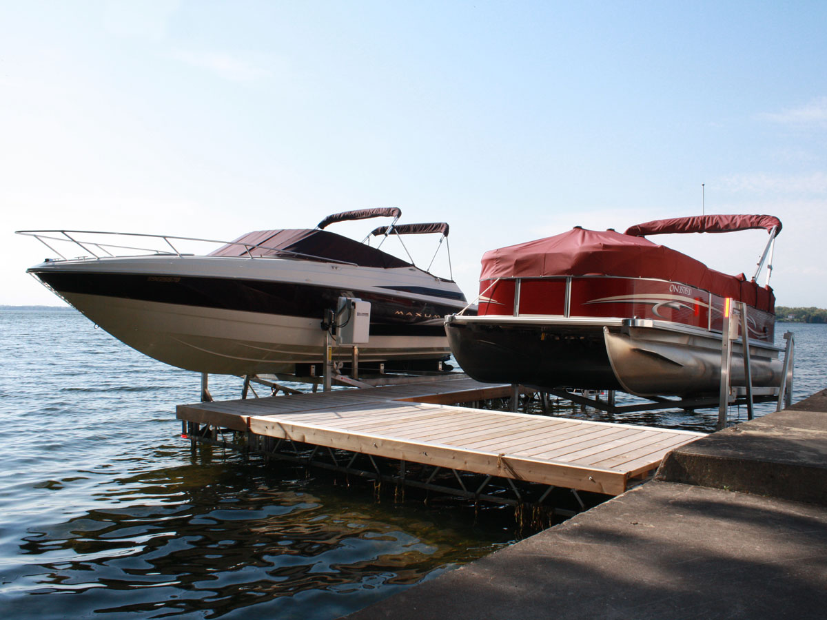 Boat Lifts 101 Here S What You Need To Know R Amp J Machine