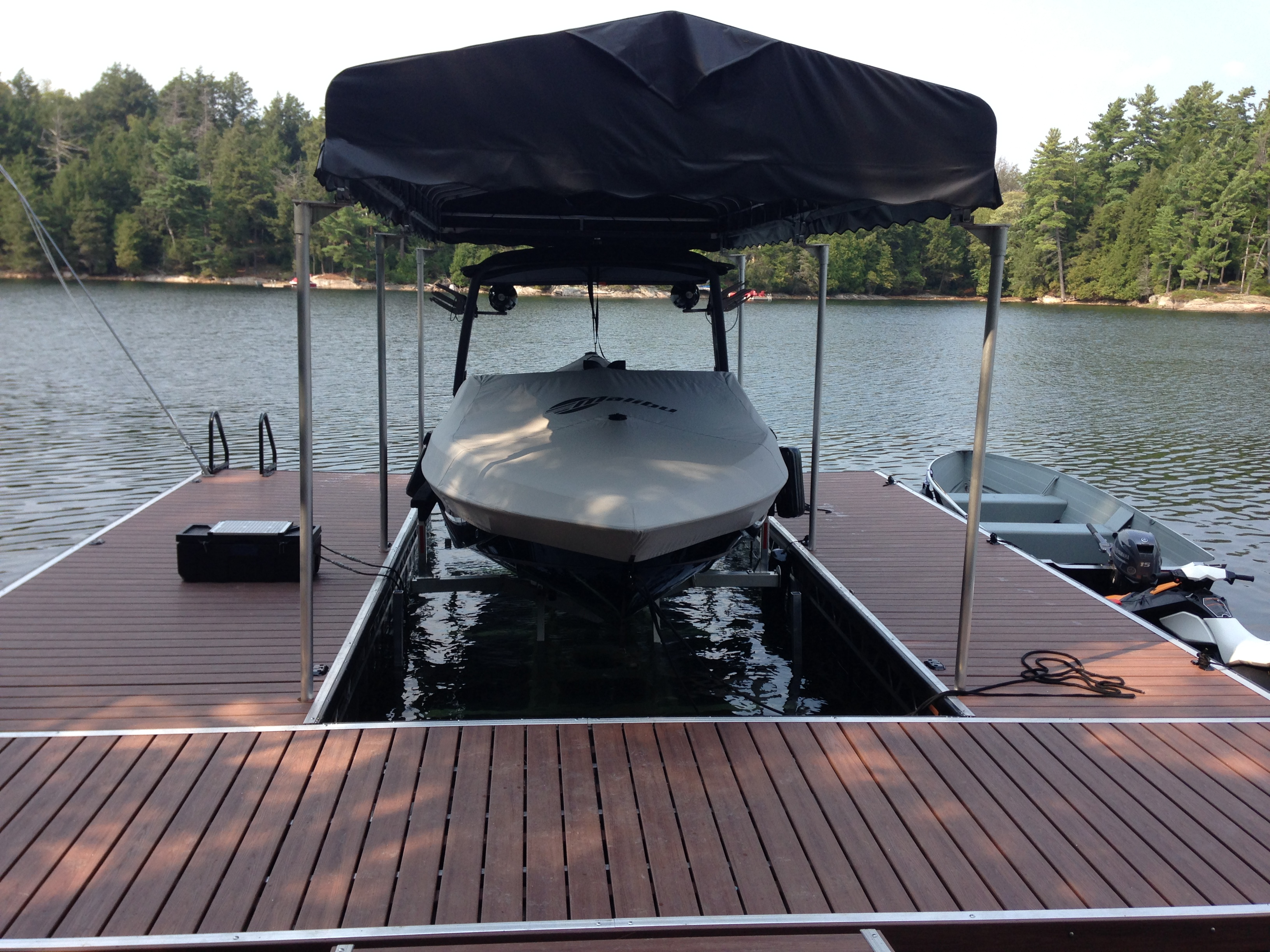 Boat Shelter Aluminum Roof : Roof systems for boats sea doos r j machine