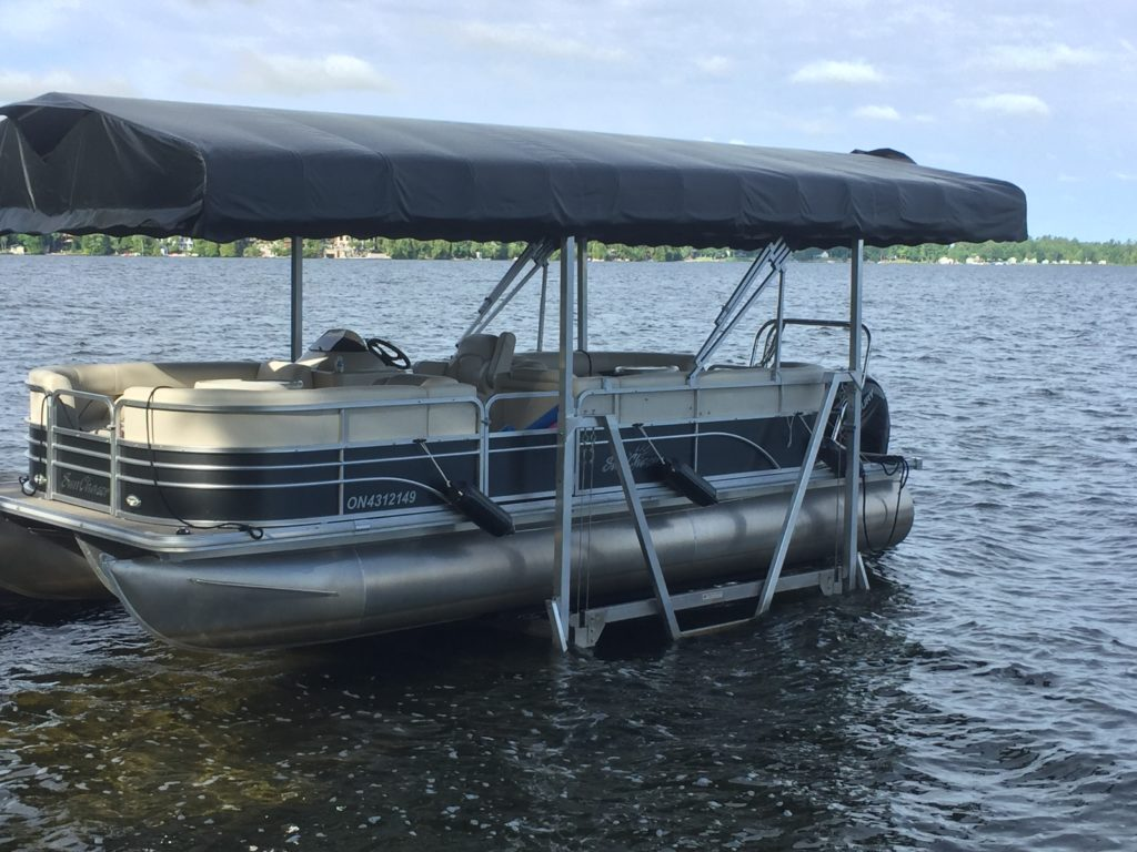 Pontoon Boat Lifts Shallow Water Pontoon Lifts R Amp J