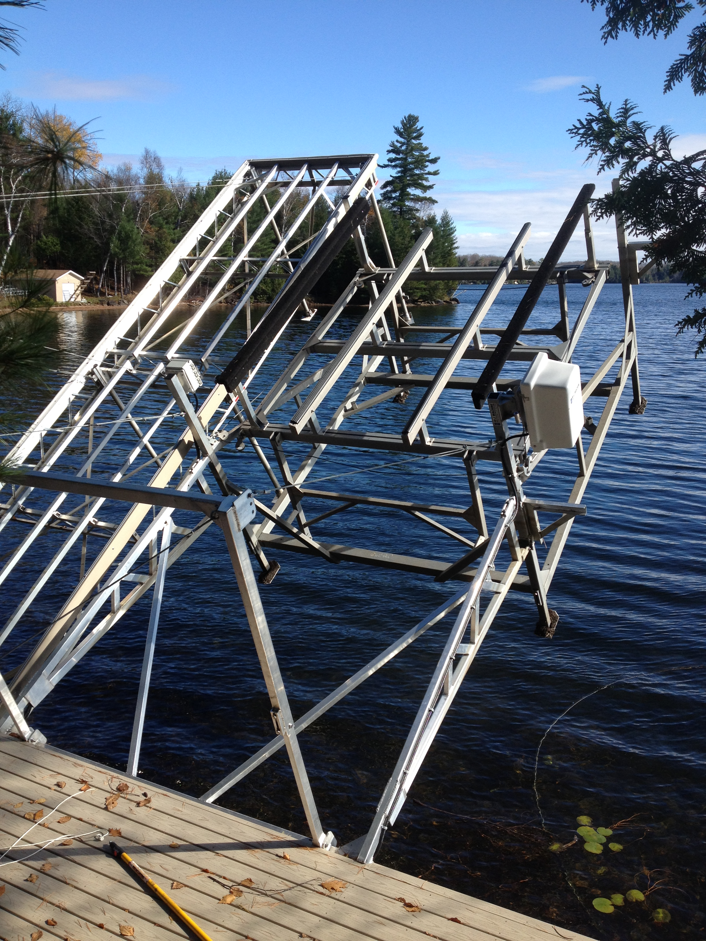 Boat Lift Options Amp Accessories R Amp J Machine