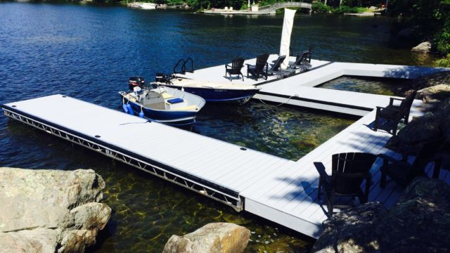Floating dock & Lift up Dock Sections