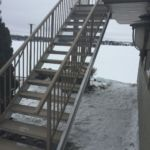 Aluminum Stairs with Pro Decking