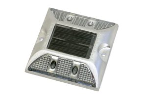 R&J Machine Dock Edge Aluminum Low Profile Solar Dock Lights