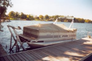 Shallow Water pontoon Lift