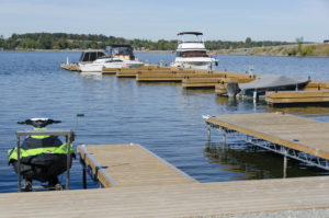 Great Outdoors Landing Commercial Docking System