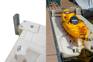 Floating Dock to Port Hinge - Wave Armour Wave Port