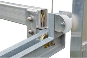 Vertical Boat Lift pulleys