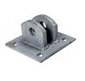 "Female T Connector Hinge 5"" x 5"" Galvanized Steel"