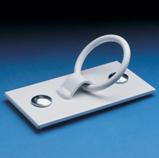 Mooring Ring Dock Cleat White