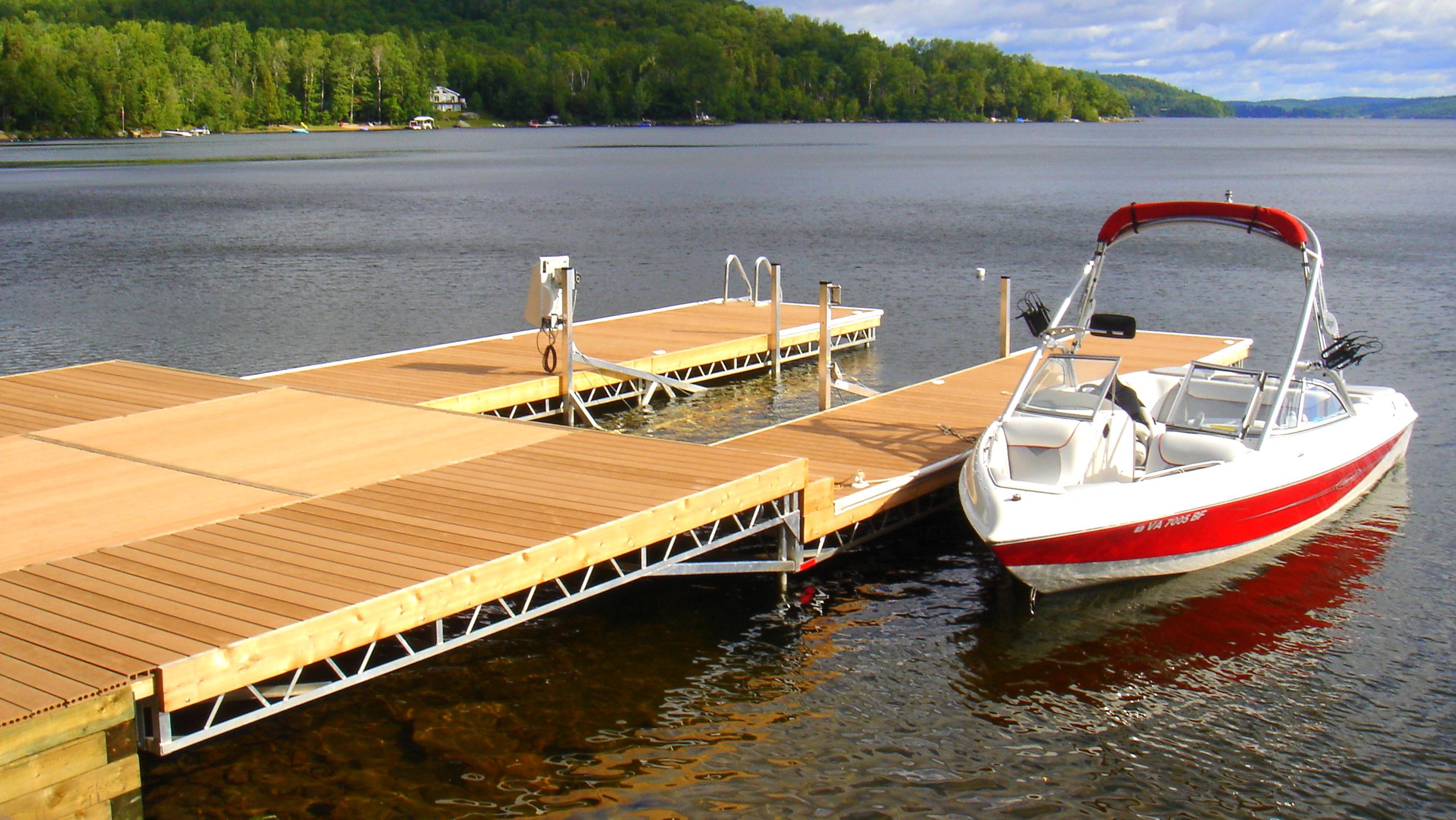 R Amp J Machine Custom Built Docks In Peterborough S