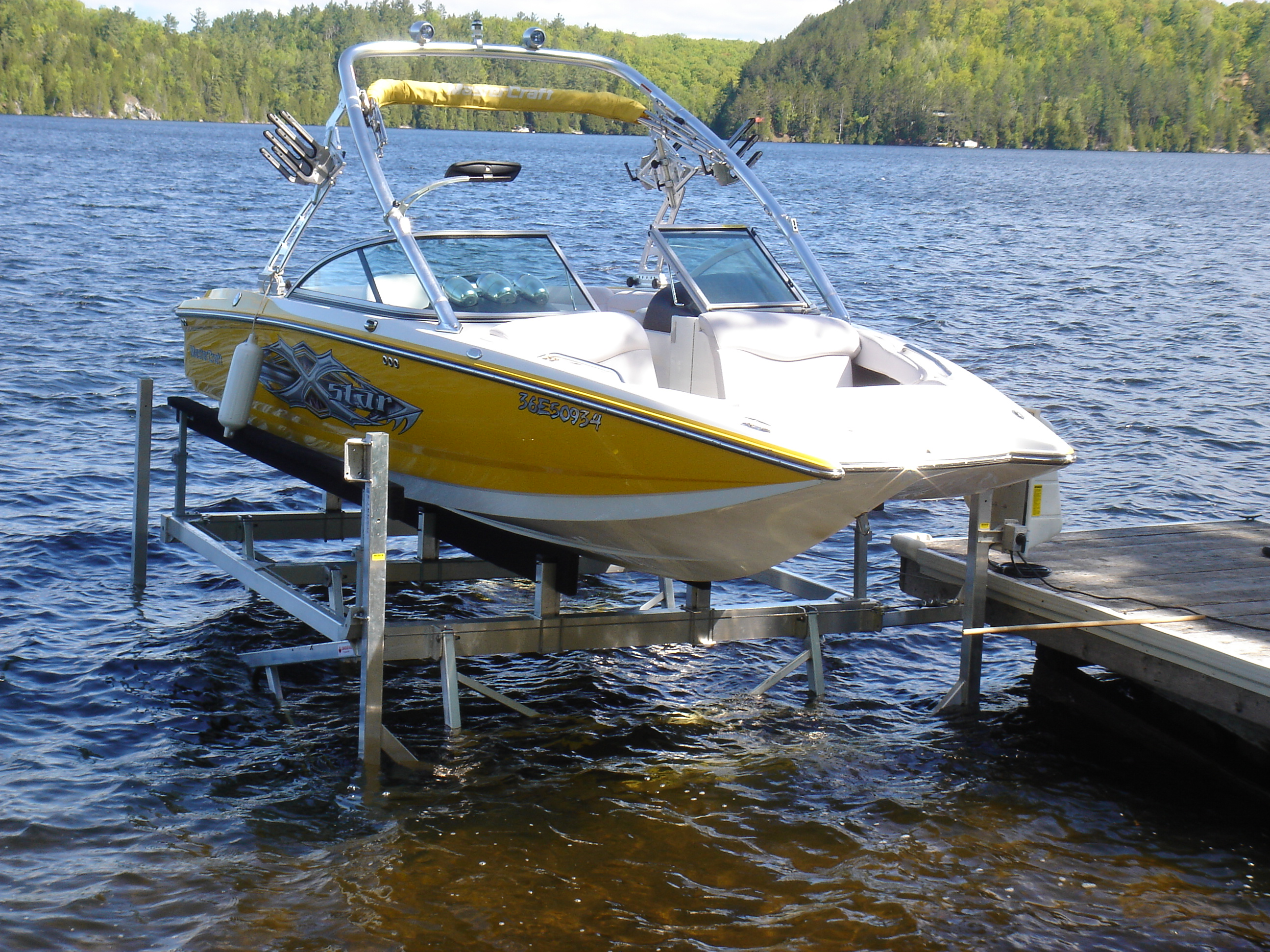 Cantilever Boat Lifts – R & J Machine