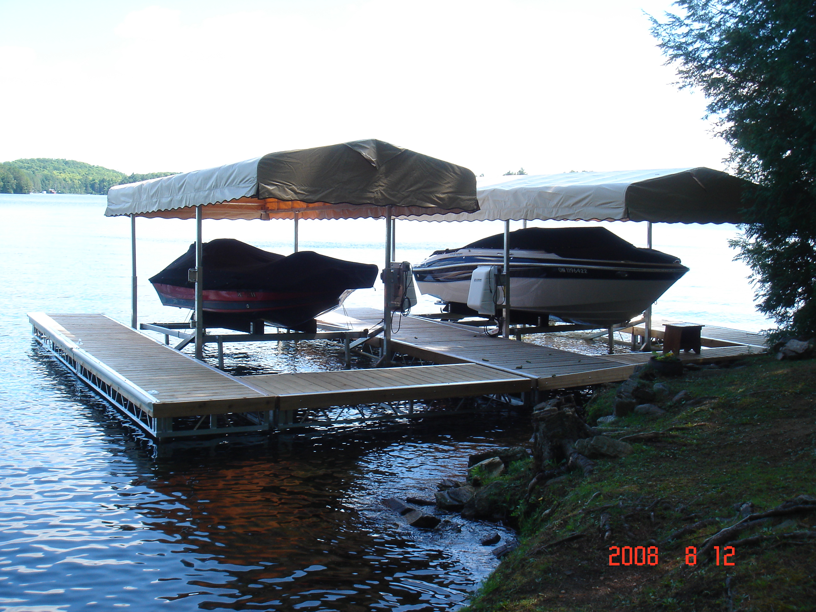 Cantilever Boat Lifts R Amp J Machine