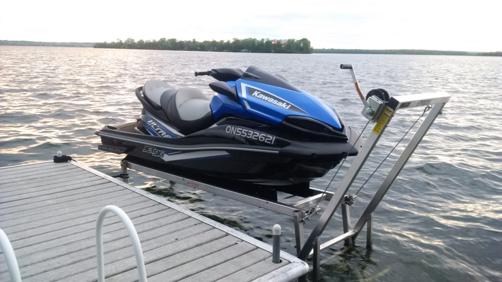 Jet Ski Lifts For Sale >> Personal Watercraft Lifts Sea Doo Lifts R J Machine