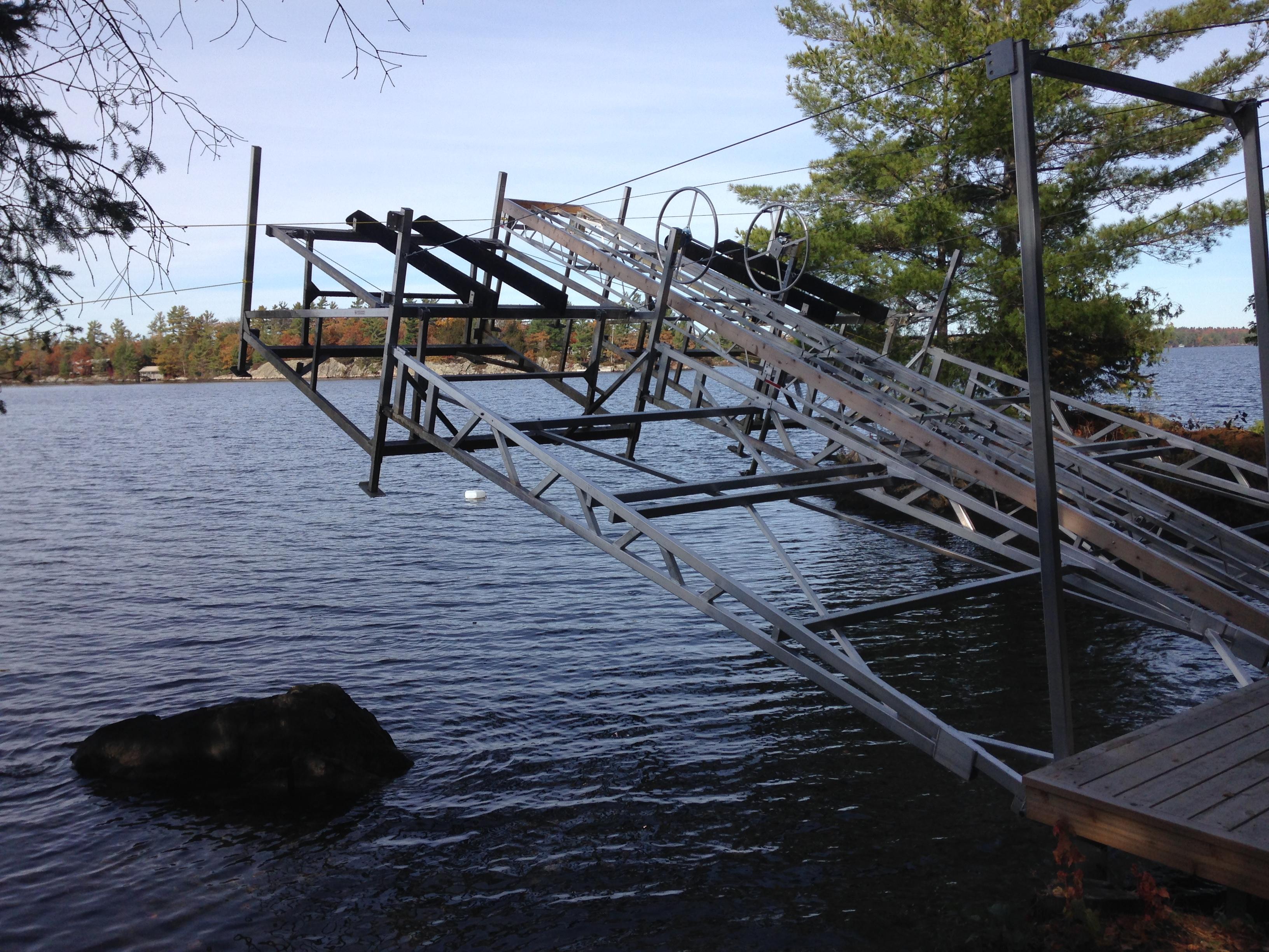 Boat Lift Options Amp Accessories R Amp J Machine