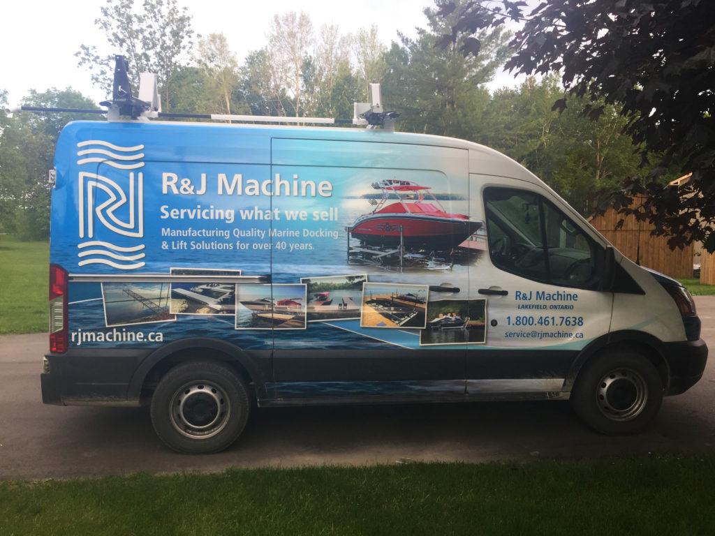 R&J Machine Service Van