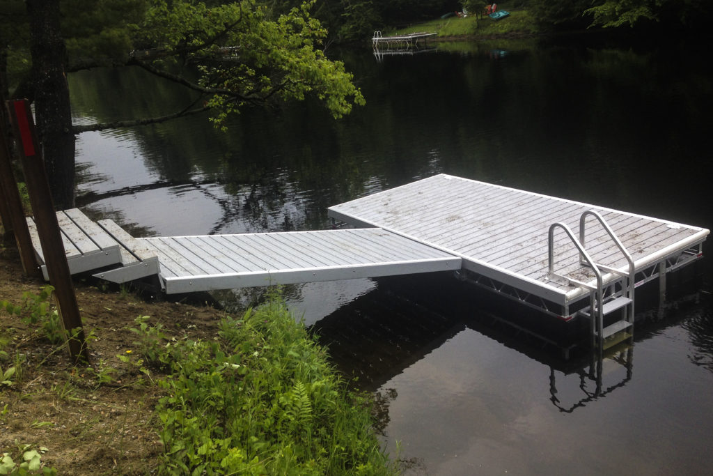 Aluminum Pipe Dock Ramp