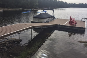 Aluminum Floating Dock Tapered Ramp