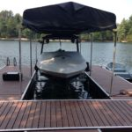 Floating Dock with Hydraulic Lift