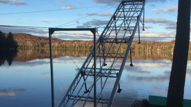 Lift up Dock in Fall