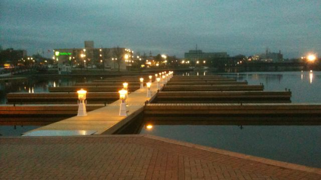commercial dock system peterborough little lake