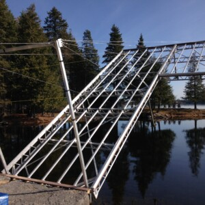 Lift Up Dock with Side L - in Fall