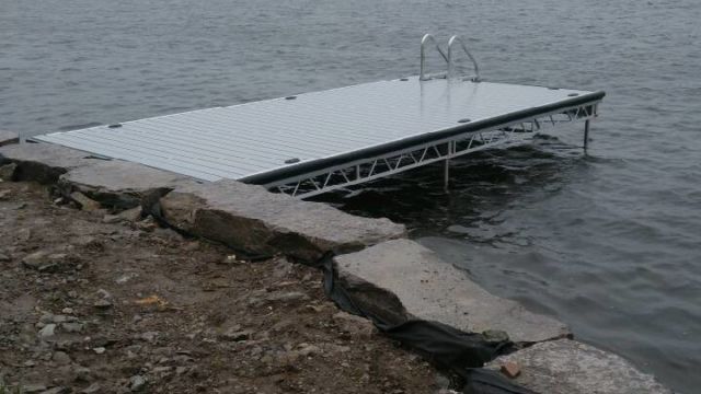 10x20 Lift Up Dock Section