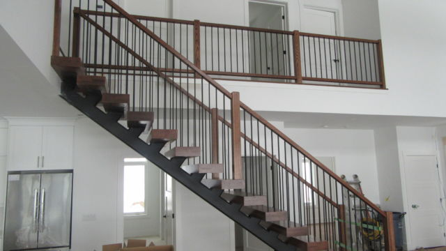 Steel Stairs and railings for home