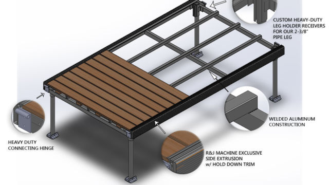 WaveX Stand Alone Dock Section