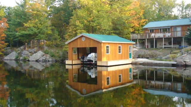 Cantilever Boathouse completed
