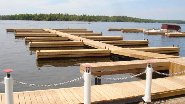 Harbour Town-Stoney Lake - Completed Installation of Phase 1